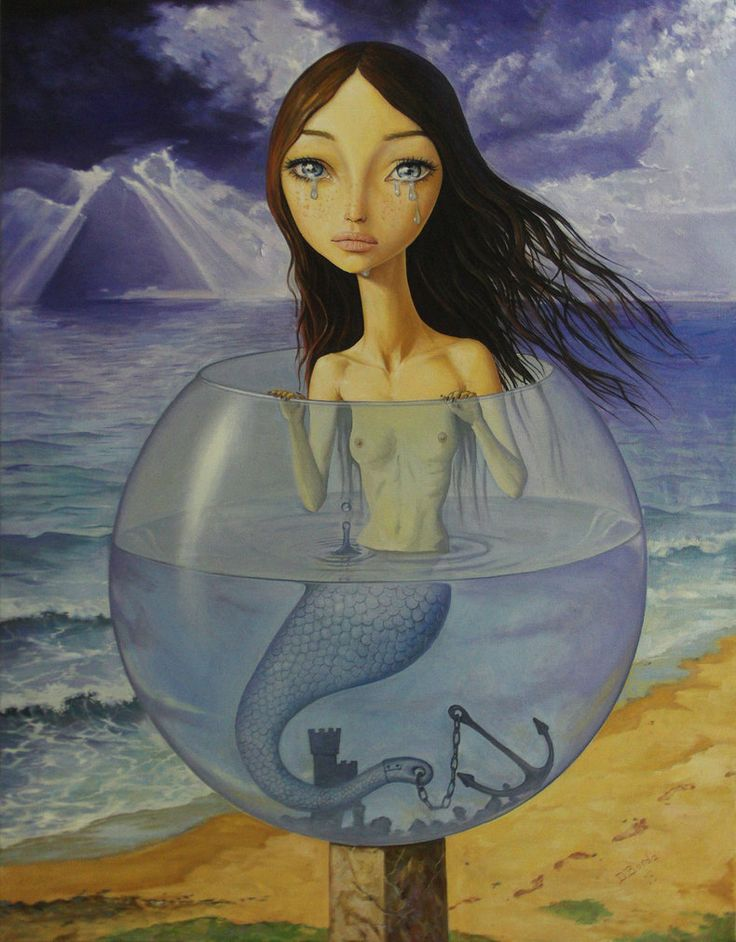 "photo: ""The Little Mermaid"" © Borda Displayed here by kind permission of the artist"
