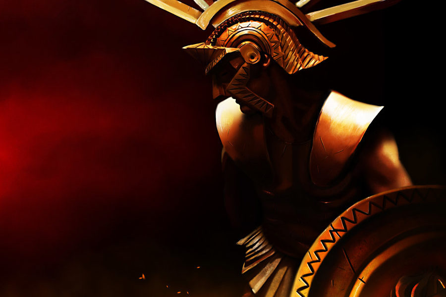 Ares_Mars_Greek_God_Art_10_by_konnee